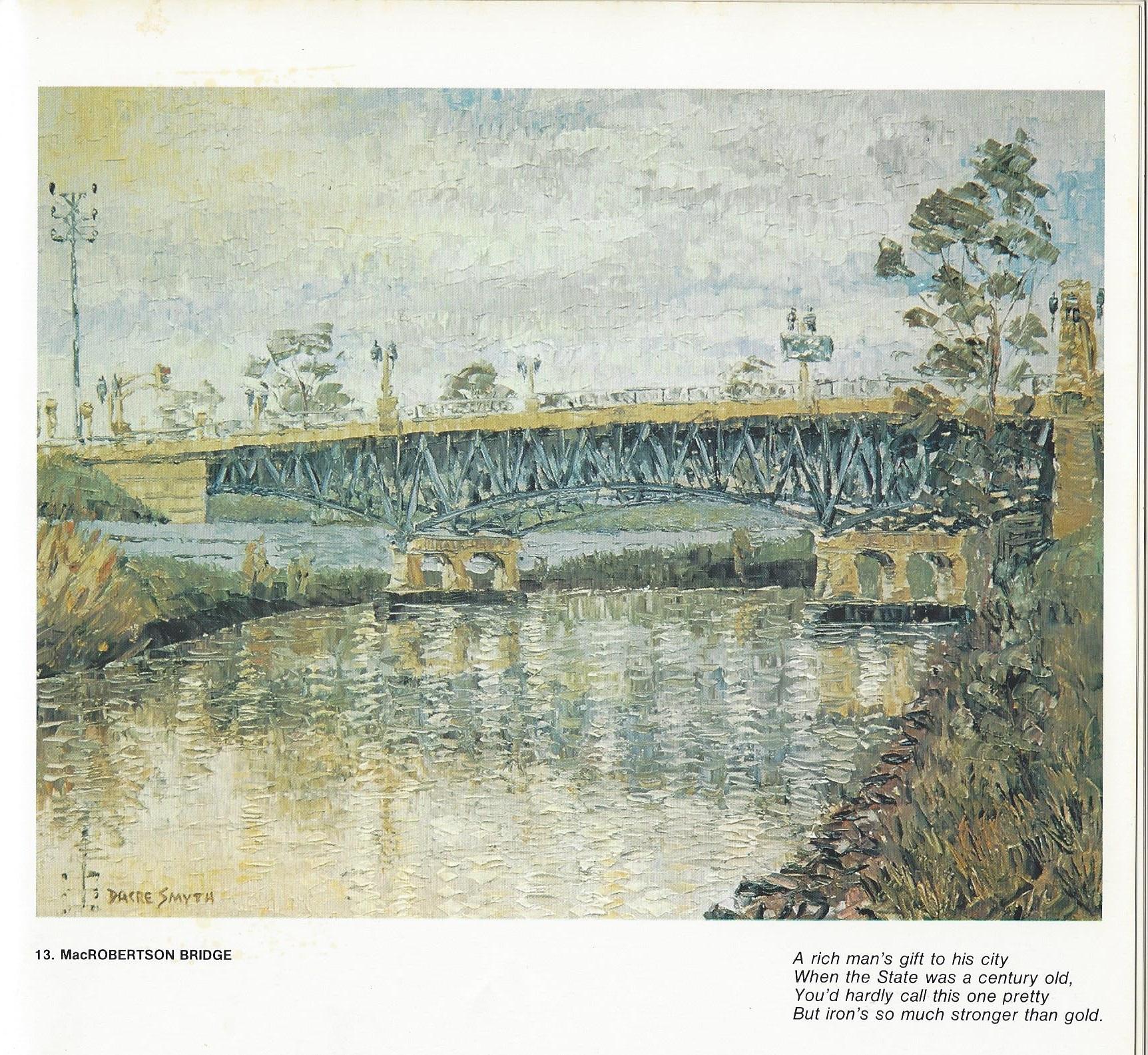 13. MacRobertson Bridge