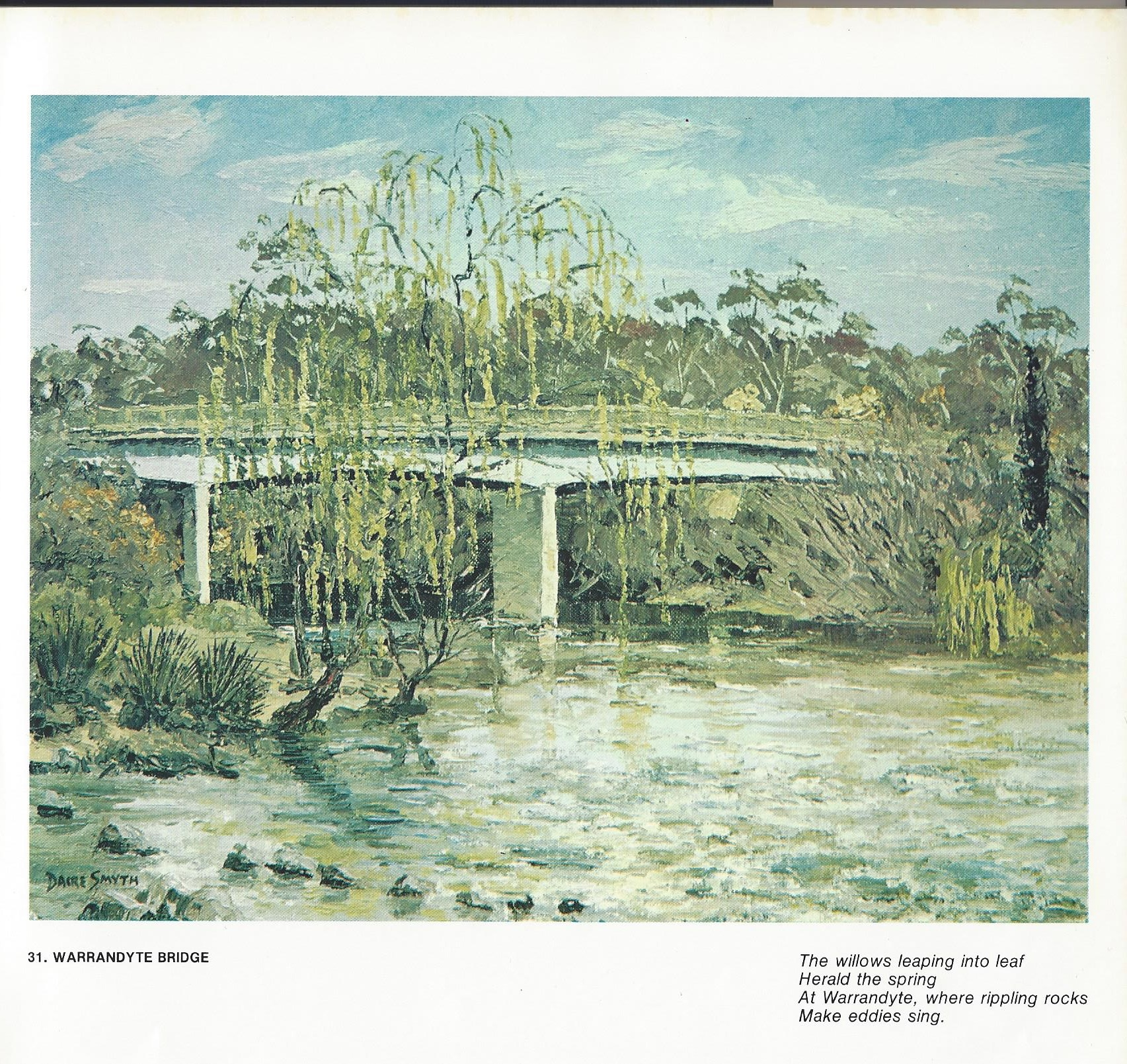 31. Warrandyte Bridge
