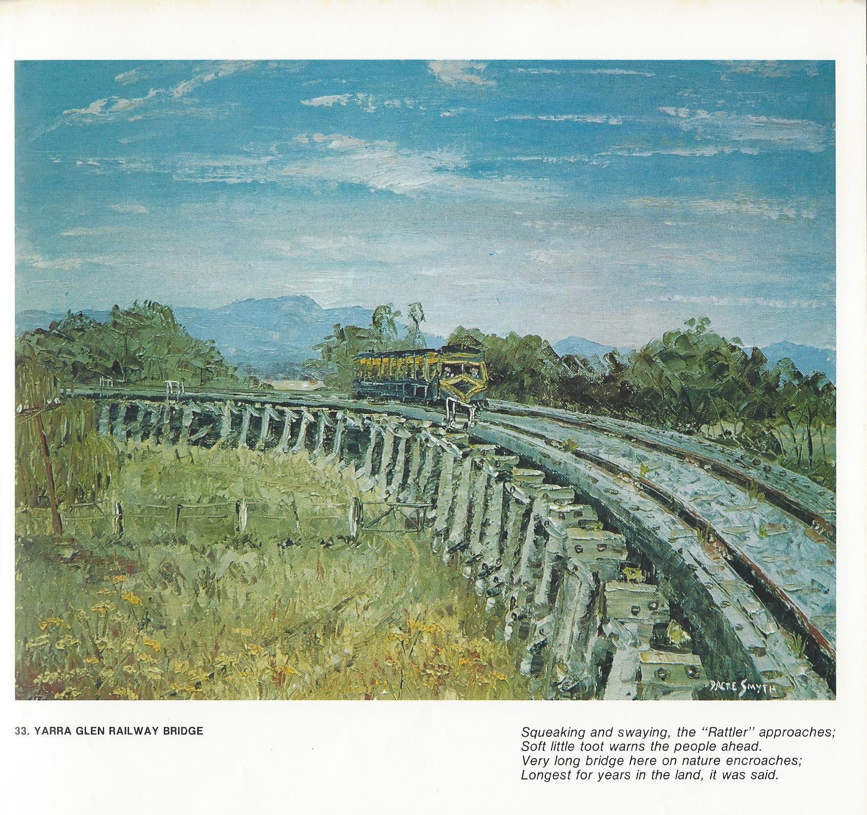 33. Yarra Glen Railway Bridge