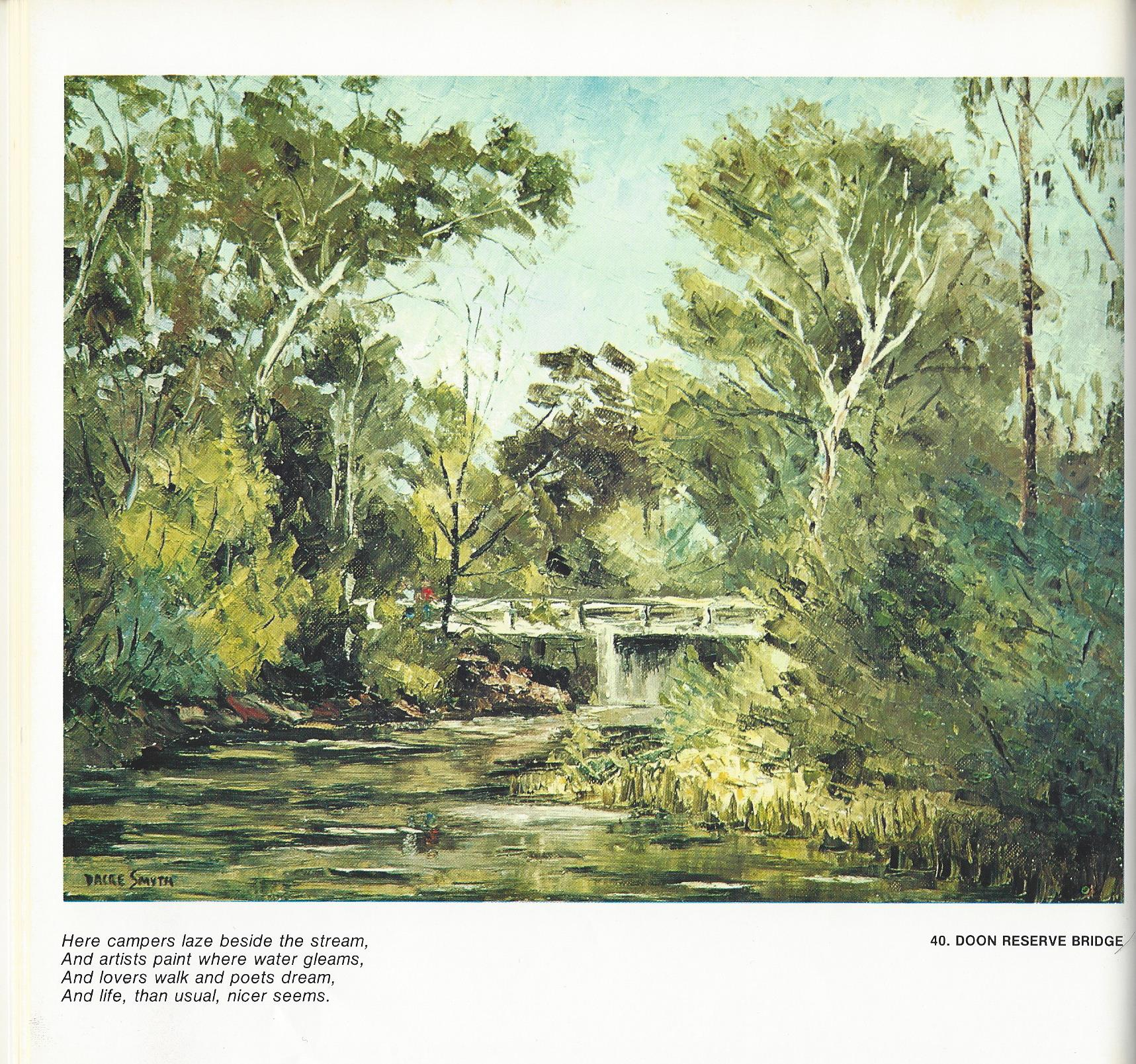 40. Doon Reserve Bridge