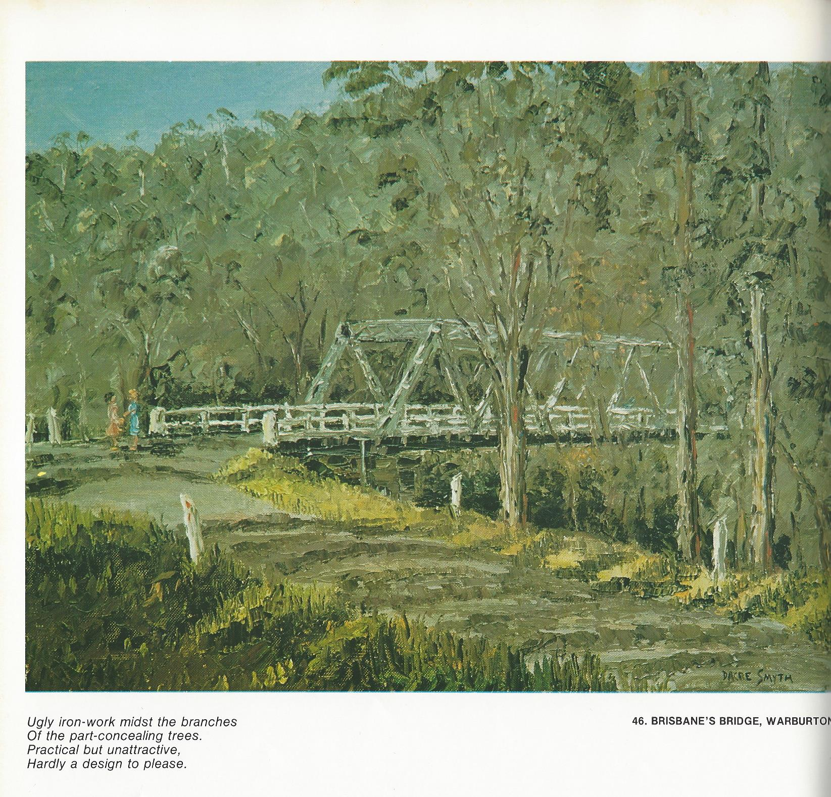 46. Brisbane's Bridge, Warburton