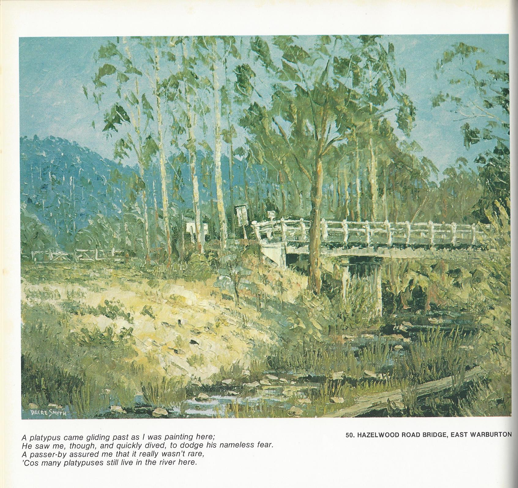 50. Hazelwood Road Bridge, East Warburton